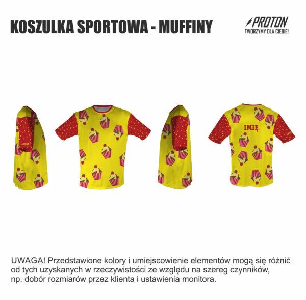 Koszulka sportowa muffiny