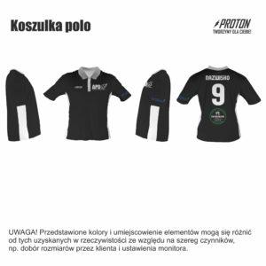 Akademia Piłkarska Dębiec koszulka polo