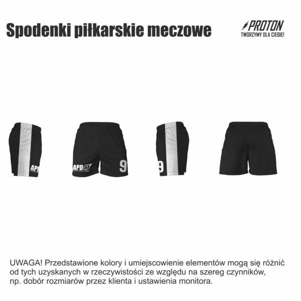 Akademia Piłkarska Dębiec spodenki meczowe