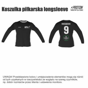 Akademia Piłkarska Dębiec koszulka longsleeve