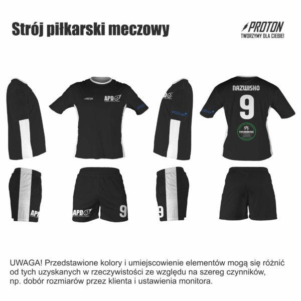 Akademia Piłkarska Dębiec strój meczowy
