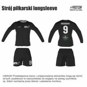 Akademia Piłkarska Dębiec strój piłkarski longsleeve