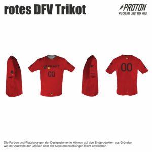 Rotes DFV trikot