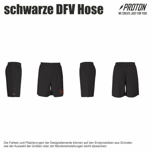 Schwarze DFV hose
