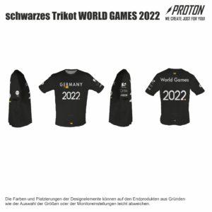 schwarzes DFV T-shirt