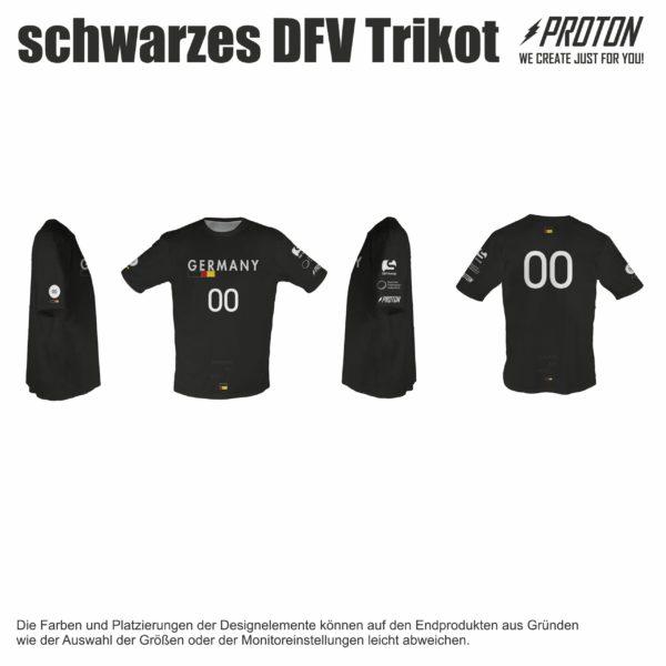 Schwarzes DFV trikot