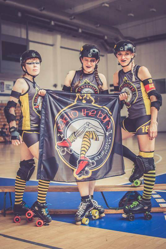 Stroje do Roller Derby sublimacja
