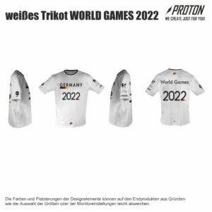 weißes DFV T-shirt