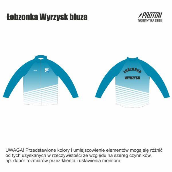 Łobzonka Wyrzysk bluza klubowa