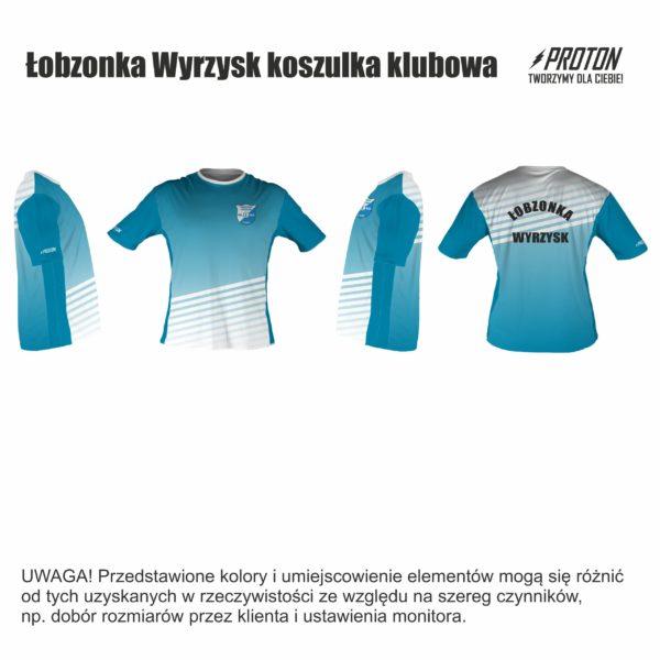 Łobzonka Wyrzysk koszulka klubowa