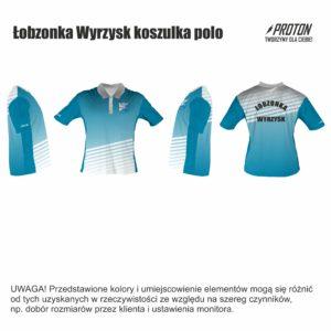 Łobzonka Wyrzysk koszulka polo