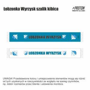 Łobzonka Wyrzysk szalik kibica