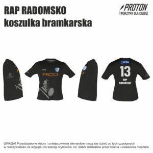 RAP RADOMSKO koszulka bramkarska