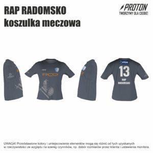 RAP RADOMSKO koszulka meczowa