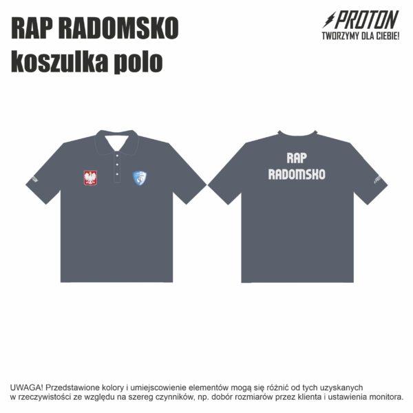 RAP RADOMSKO koszulka polo